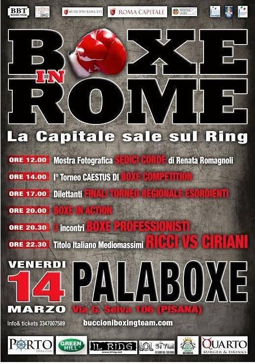 boxe in rome